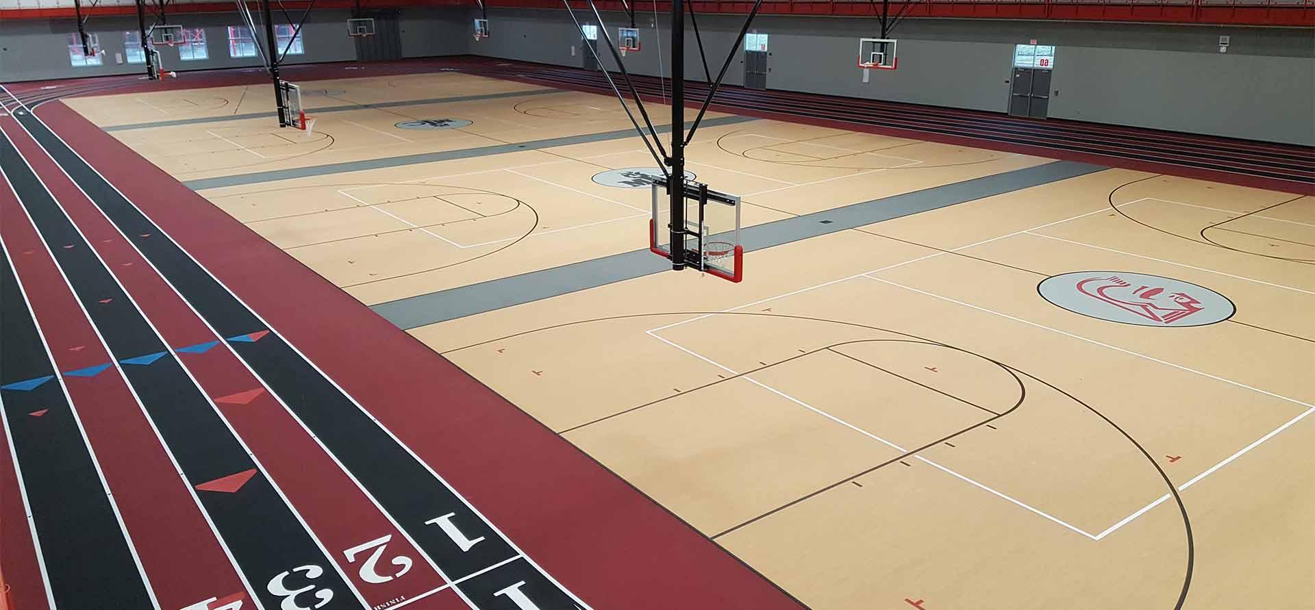 basketbol sahasi yapımı